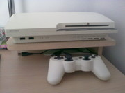 Playstation 3 White 160 gb Slim